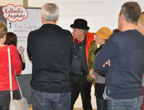 Workshop – Am Anfang steht die Idee. Projektplanung und Antragstellung leicht gemacht.
