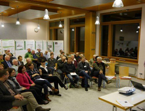 Infoveranstaltung Dorfladen: Austausch zwischen Bürgern und Engagierten