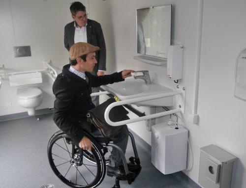 Erstes mobiles barrierefreies WC im Landkreis Reutlingen